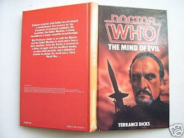 Doctor Who The Mind of Evil  HB 1st Edition VERY RARE